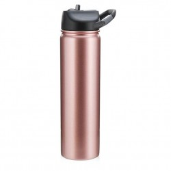 SIC Cups 27 oz Hot/Cold Sports Bottle - Rosegold Glitter