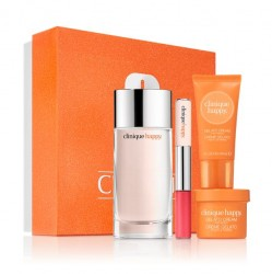 Clinique 4-pc  Fragrance and Lip Gift Set