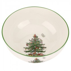 "SPODE ""Christmas Tree"" Large Round Bowl"