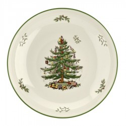 "SPODE ""Christmas Tree"" Pasta Bowl 13 Inch"