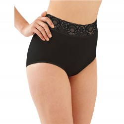 Bali Lacy Skamp Brief - Black
