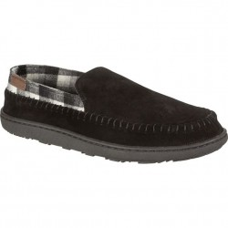 Pendleton Suede and Wool Slipper - Black