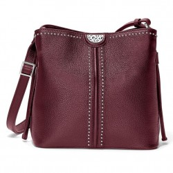 Brighton Robbie Bucket Bag - Sangria