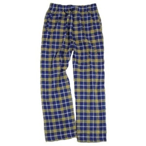 Boxercraft Flannel Pant - Navy/Gold