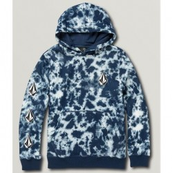 Volcom Deadly Stone Hooded Pullover - Navy