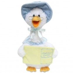 Cuddle Barn Battery Operated Mother Goose - Blue