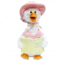 "Animated 14"" Mother Goose Pink"
