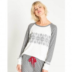 PJ Salvage Snowed In Long Sleeve Top