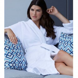 Classic Terry Velour Hotel Spa Robe