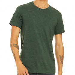 Canvas Super Soft Cotton Blend Shirt - Heather Green