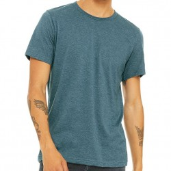 Canvas Super Soft Cotton Blend Shirt - Heather Teal