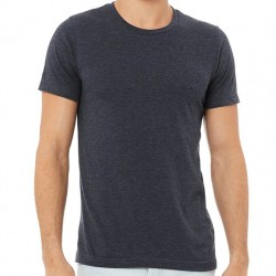 Canvas Super Soft Cotton Blend Shirt - Heather Navy