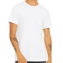 Canvas Super Soft Cotton T-Shirt - White