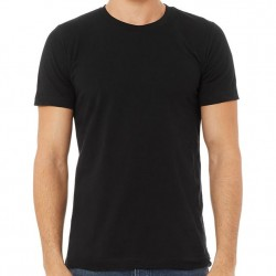 Canvas Super Soft Cotton T-Shirt - Black