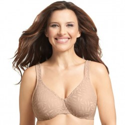 Olga Leaves Underwire Minimizer - Butterscotch