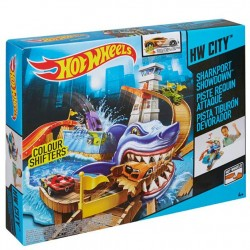 Hot Wheels Shark Port