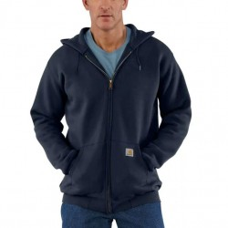 Carhartt Full Zip Hooded Sweatshirt - New Navy