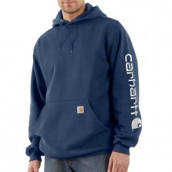 Carhartt Hooded Pullover Sweatshirt - New Navy