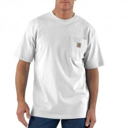 Carhartt Short Sleeve Pocket Tshirt - White