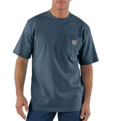Carhartt Short Sleeve Pocket Tshirt - Bluestone