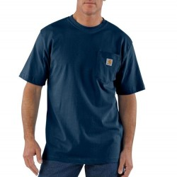 Carhartt Short Sleeve Pocket Tshirt - Navy