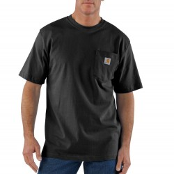 Carhartt Short Sleeve Pocket Tshirt - Black
