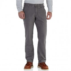 Carhartt Canvas Pant with Stretch - Gravel