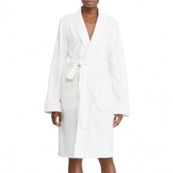 Lauren by Ralph Lauren Cotton Robe - White