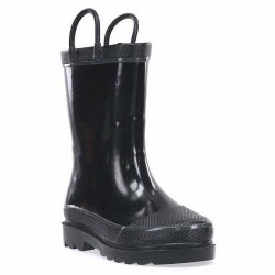 Western Chief Kids Firechief 2 Rain Boot Style #4900600 - Black