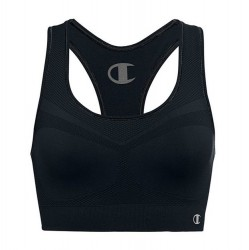 Champion Racerback Sports Bra - Black