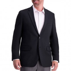 Haggar Active Series Tailored Fit Blazer - Black