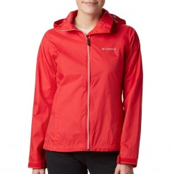 Columbia Windbreaker - Red Lily