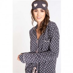 PJ Salvage 3 pc Pajama Set - Give Love