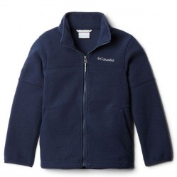 Boys 8 to 20 Columbia Sherpa Jacket - Navy