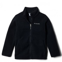 Boys 8 to 20 Columbia Sherpa Jacket - Black
