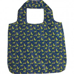 Blu Bag Reusable Bag - Navy Dog Pack