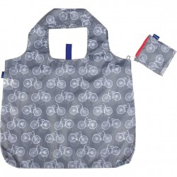 Blu Bag Reusable Bag - Grey Bikes