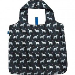 Blu Bag Reusable Bag - Black Dogs