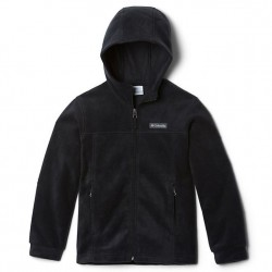 Boys 8 to 20 Columbia Fleece Full Zip Jacket - Black