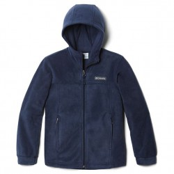 Boys 8 to 20 Columbia Fleece Full Zip Jacket - Navy
