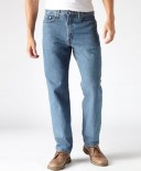 Levi's Mens Relaxed Fit 550 Jeans - Medium Stonewash
