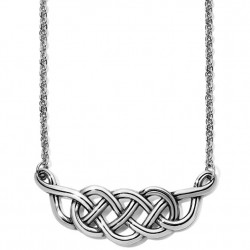 Brighton Interlock Braid Collar Necklace
