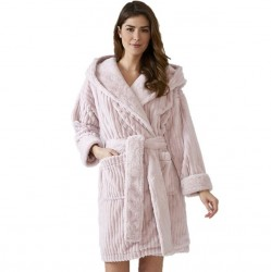 Pretty You London Cloud Robe - Pink