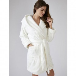 Pretty You London Cloud Robe - Cream