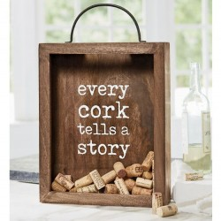 Mud Pie Wood Cork Display Box