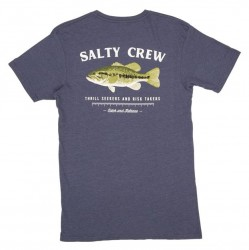 Salty Crew Big Mouth T-Shirt - Navy Heather