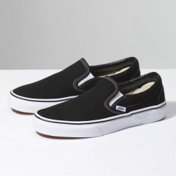 Vans Slip On - Black/White