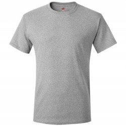 Hanes Men's TAGLESS® Short Sleeve T-Shirt - Light Steel