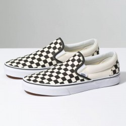 Vans Slip On - Black/White Check
