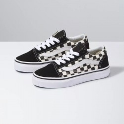 Vans Kids Old Skool - Black/White Check